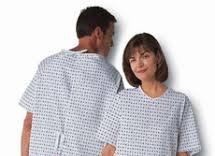 پارچه بیمارستانی لباس
