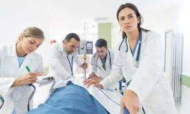 پارچه سفید بیمارستانی