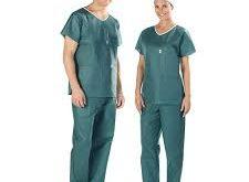 خرید پارچه سبز کجراه اتاق عملی بیمارستانی