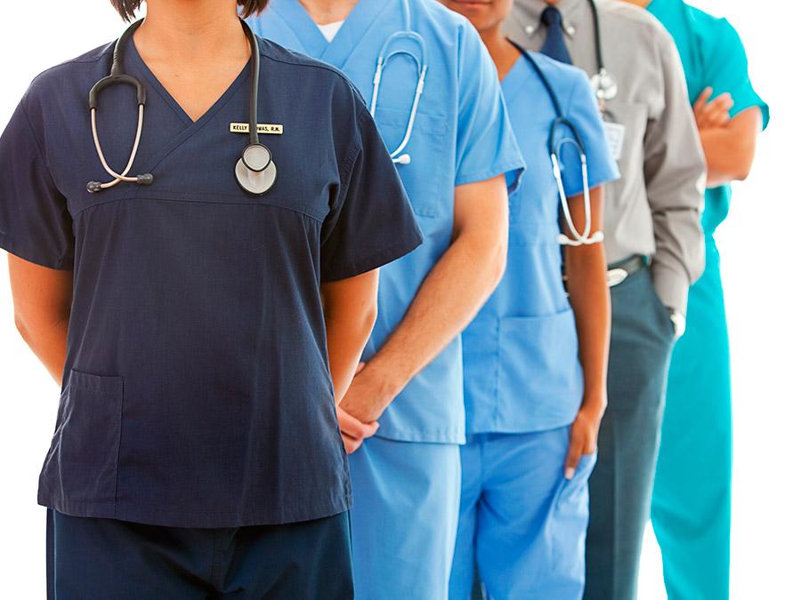 پارچه ترگال بیمارستانی رنگی